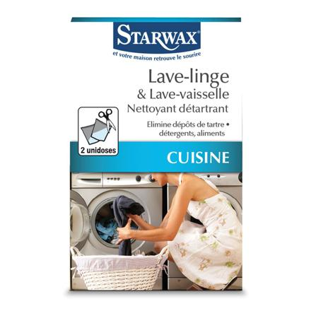 nettoyant pour lave linge
