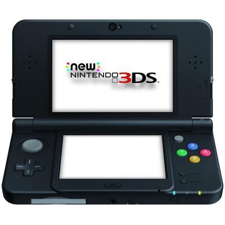 new nintendo 3ds noire