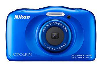 nikon coolpix s33 bleu