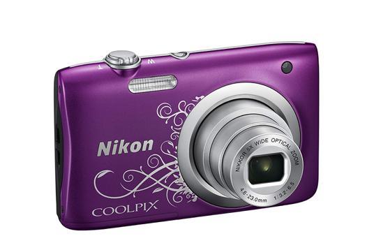 nikon coolpix violet