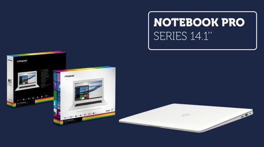 notebook pro polaroid