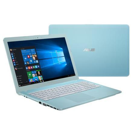 ordinateur portable bleu turquoise