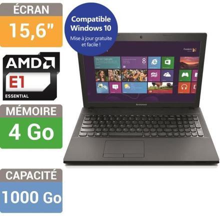 ordinateur portable lenovo g505
