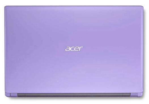 ordinateur violet