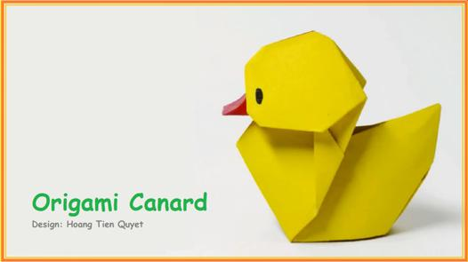 origami facile animaux