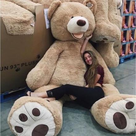 ours en peluche géant 200 cm