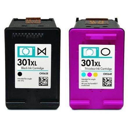 pack cartouche hp 301 xl noir et couleur