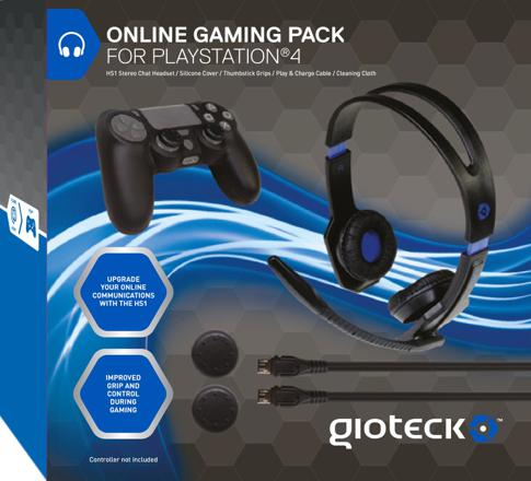 pack gamer ps4