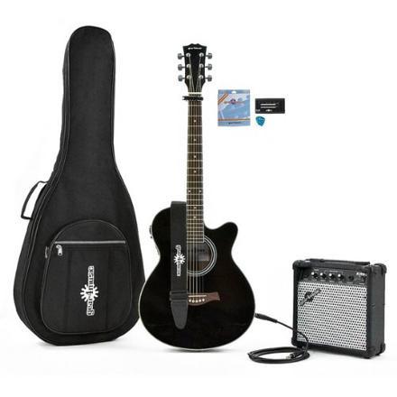 pack guitare electro acoustique ampli
