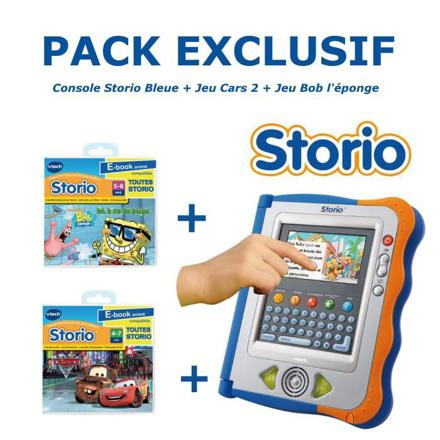 pack jeux storio