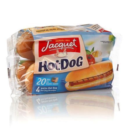 pain pour hot dog