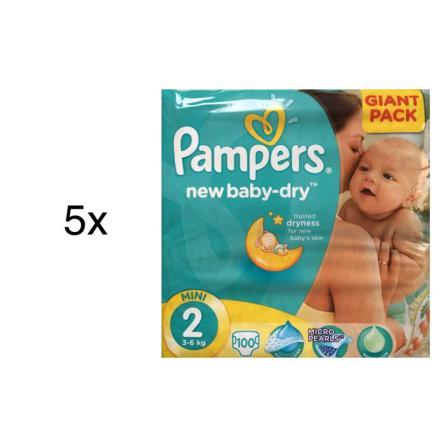 pampers new baby ou baby dry