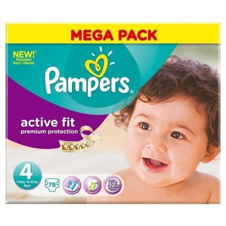 pampers taille 4 active fit