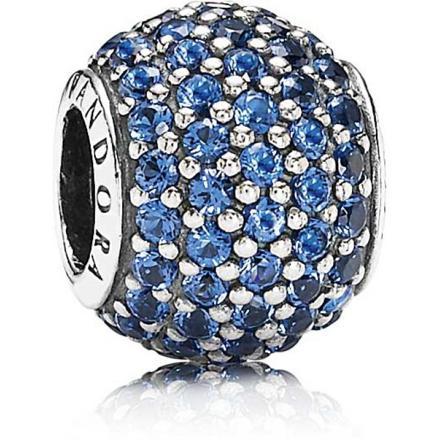 pandora perle bleu