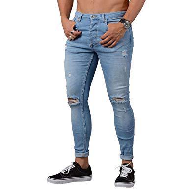 pantalon a trou homme