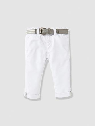 pantalon blanc bebe