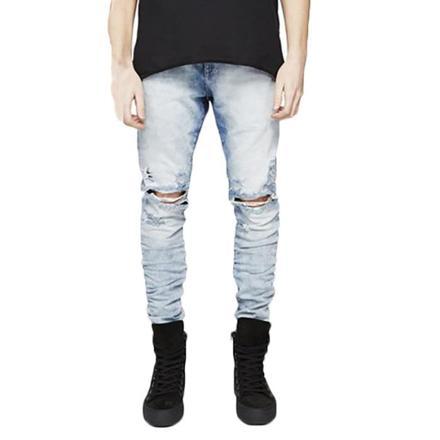 pantalon troué homme