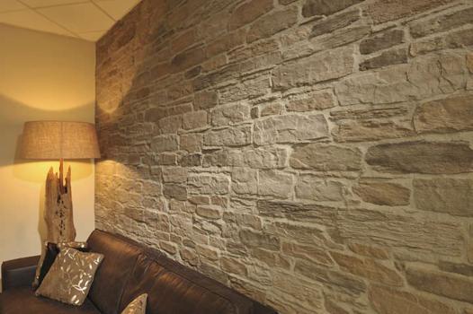 papier peint façon pierre