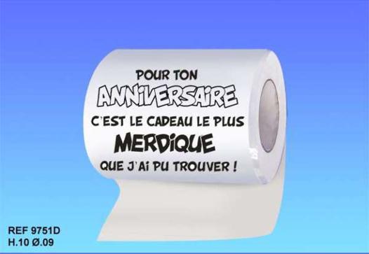 papier toilette personnalisé photo