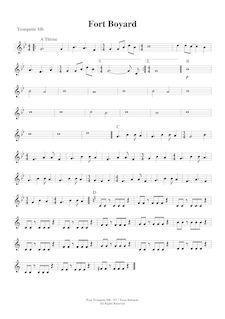 partition trompette
