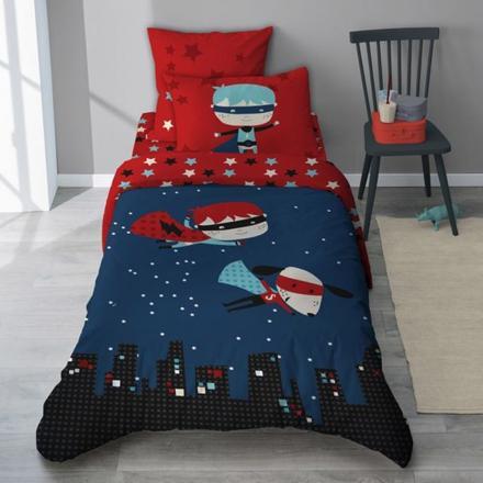 parure de lit super heros