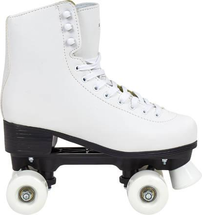 patin a roulette blanc