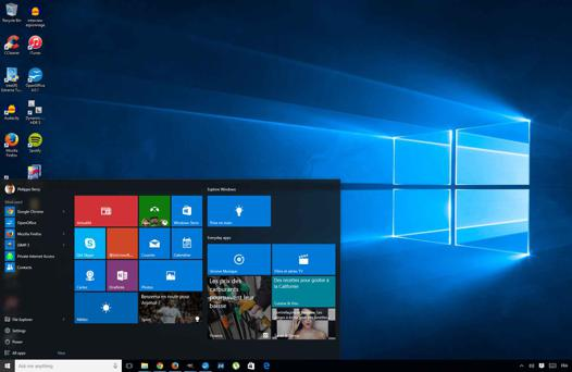 pc bureau windows 10