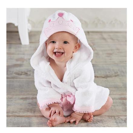 peignoir bebe fille