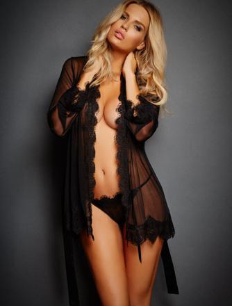 peignoir lingerie