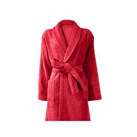 peignoir rouge femme
