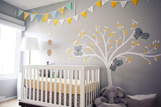 peinture chambre bébé non toxique