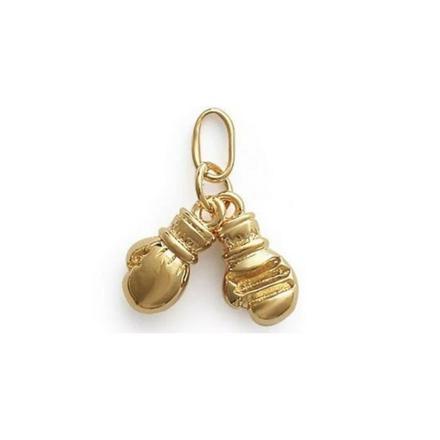pendentif gant de boxe or