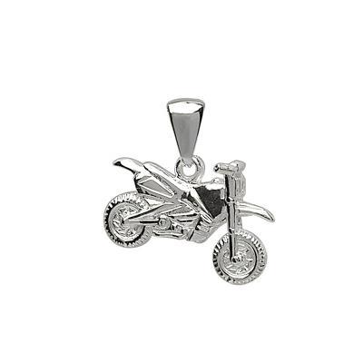 pendentif moto cross