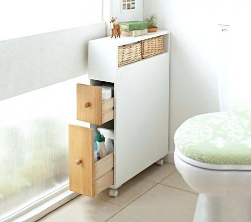 petit meuble rangement wc