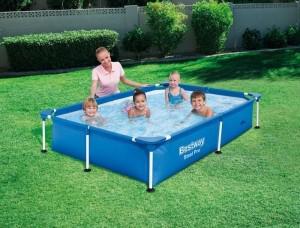 petite piscine tubulaire rectangulaire