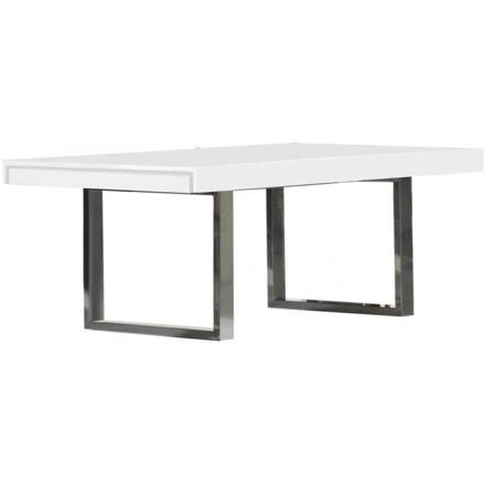 pied de table design inox