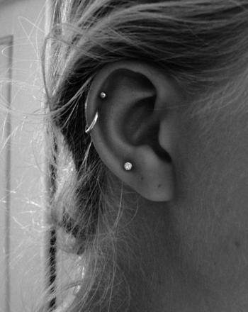 piercing helix anneau