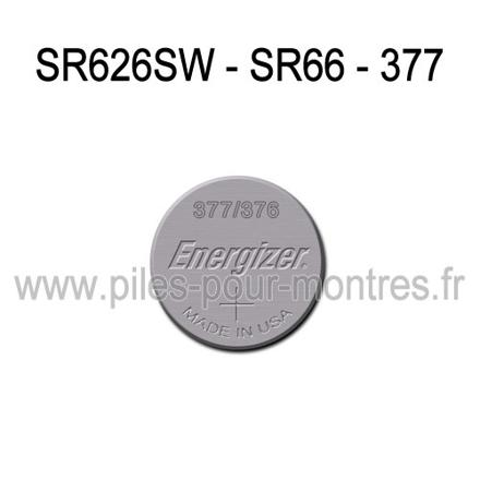 pile de montre sr626sw