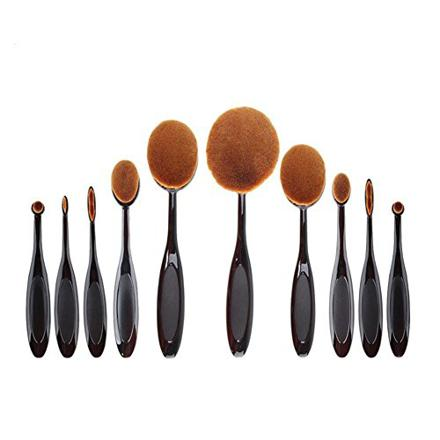 pinceau ovale maquillage