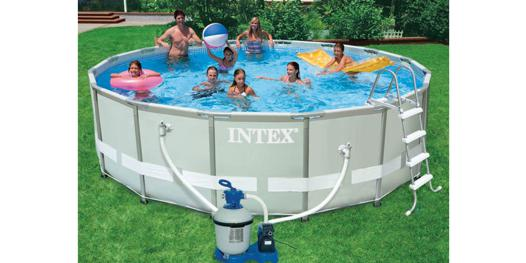 piscine hors sol tubulaire intex ultra frame