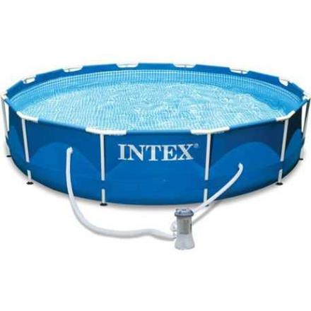 piscine intex metal frame