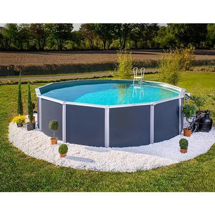 piscine metal hors sol