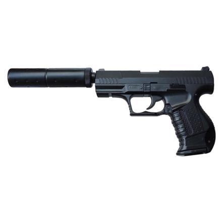 pistolet a bille avec silencieux