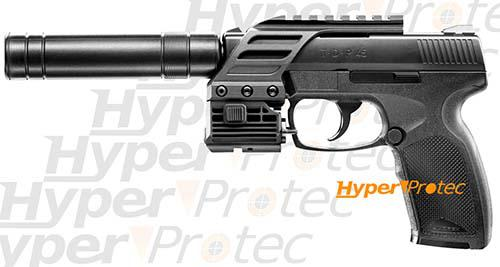 pistolet a bille silencieux et laser