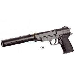 pistolet à bille silencieux