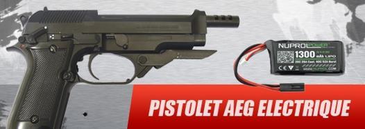 pistolet aeg