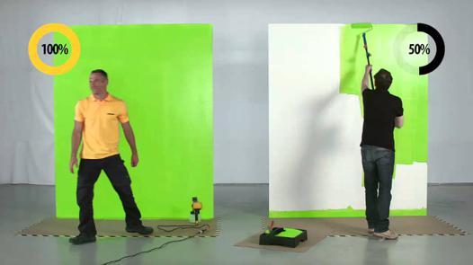 pistolet peinture efficace