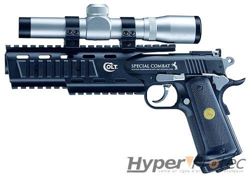 pistolet puissant a bille