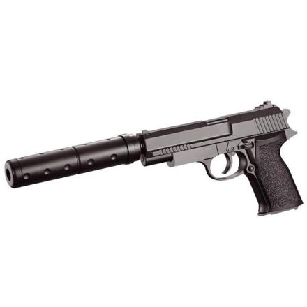 pistolet silencieux a bille