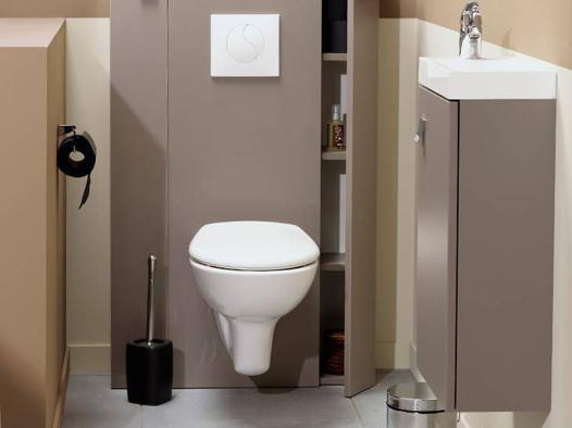 placard wc suspendu